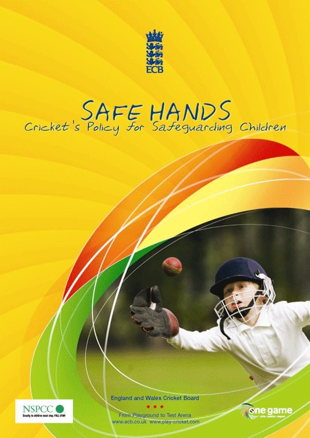 ECB Safe Hands Flyer