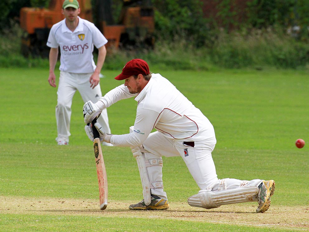Seaton's Joel Seward, who scored an unbeaten century against Cullompton