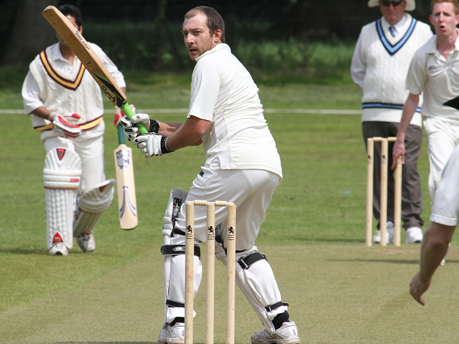 Honiton's Richard Potter, who shared a stand of 154 with George Meadows in Honiton's win over Cheriton Fitzpaine