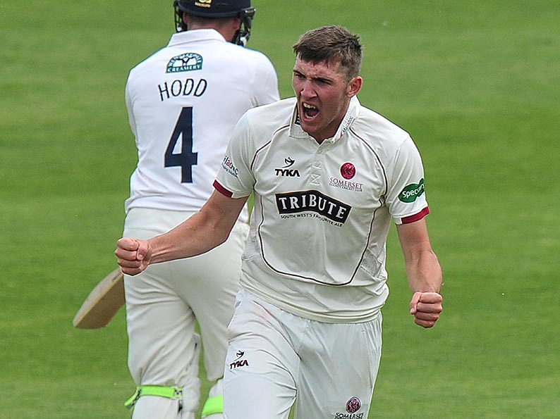 Cleared to play - England have given permission for Craig Overton to play in the James Hildreth T20 testimonial at South Devon CC<br>credit: www.ppauk.com