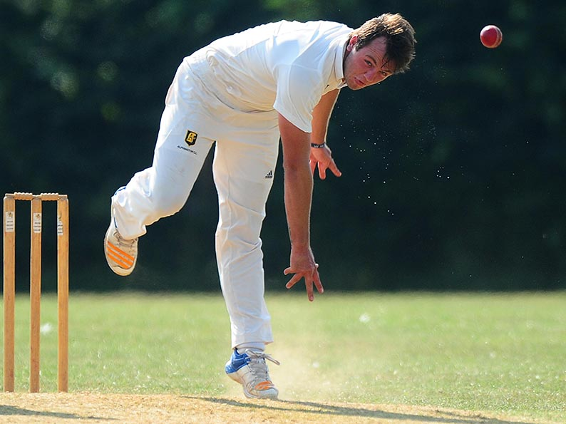 D J van Vuuren - Alphington's South African all-rounder