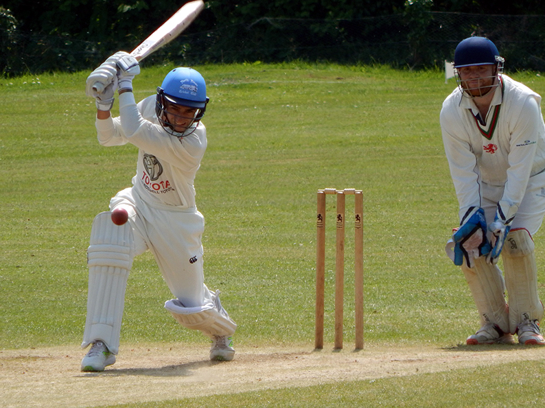 Adrian Isherwood - runs and wickets for North Devon in the win over Bradninch