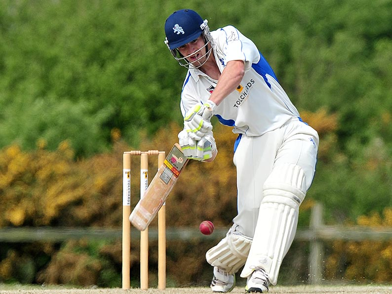 Josh Bess - top scored for Devon in the defeat by Lincolnshire<br>credit: www.ppauk.com