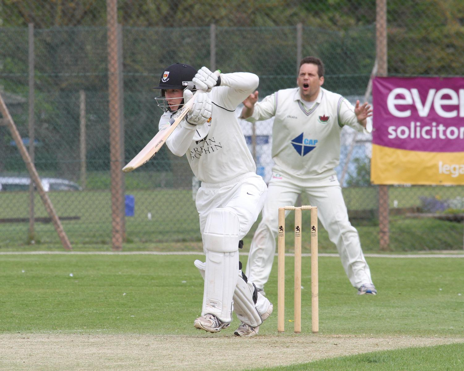 Sidmouth skipper Luke Bess watched from slip by Exmouth oppo Richard Baggs