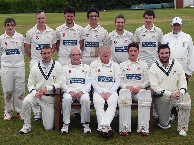 Sidmouth 3rd XI, who defeated Seaton by 36 runs in a high-scoring affair