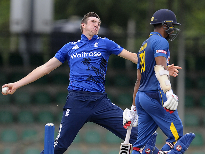 Craig Overton -  England's man of the moment