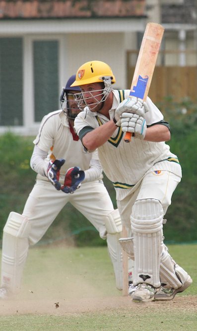 Steve Batey, who hit out for Uplyme against Exeter 3rd XI