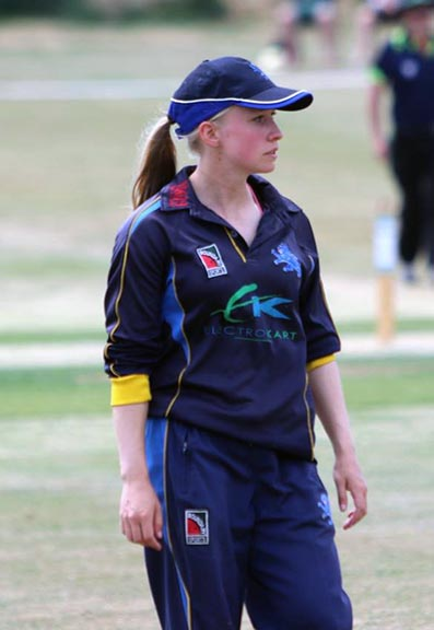 Becca Silk - leading wicket taker for Devon in T20 cricket